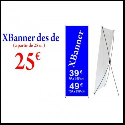 Expositor X-Banner